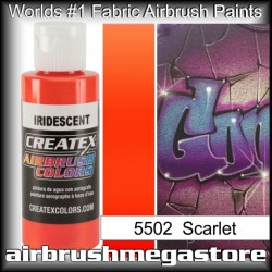 createx colors 5502-irid-scarlet airbrush paint
