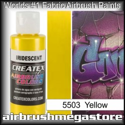 createx colors 5503-irid-yellow airbrush paint