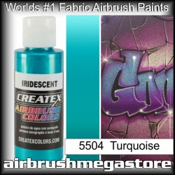 createx colors 5504-irid-turquoise airbrush paint