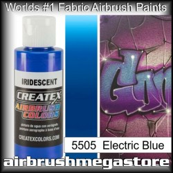 createx colors 5505-irid-electric-blue airbrush paint