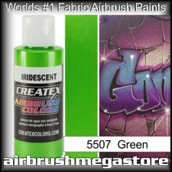 createx colors 5507-irid-green airbrush paint