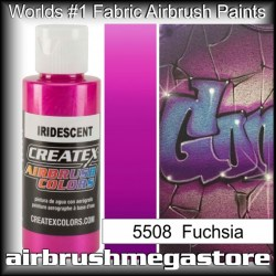 createx colors 5508-irid-fuchsia airbrush paint