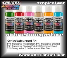 createx colors 5810-00-tropical-set