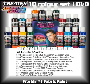 createx colors 5813-00-18-color-airbrush-dvd-set